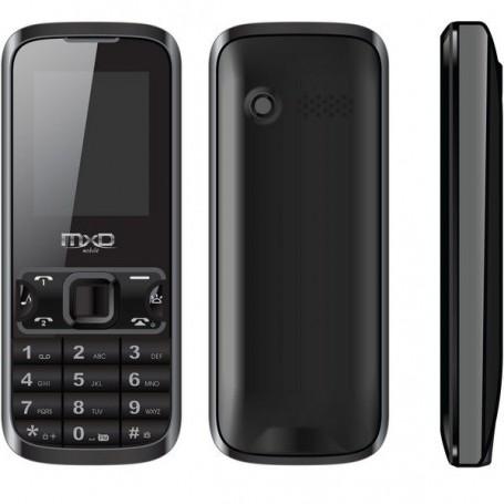 MXD TELEFONO DUAL SIM GSM RADIO BLUETOOTH MP3 FOTOCAMERA COLORE NERO