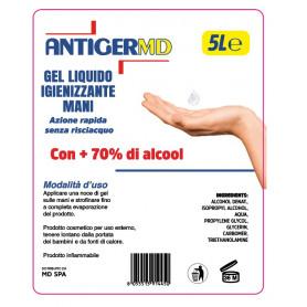 ANTIGERMD - GEL LIQUIDO IGIENIZZANTE 5 LITRI