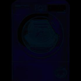 HOOVER DXOH9A3TCEXMS-S - ASCIUGATRICE 9KG